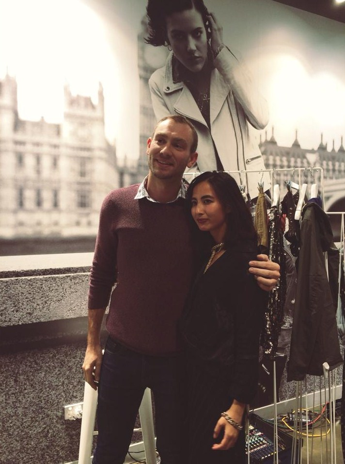 Australian National Manager of Topshop with Petta Chua of Vogue Australia